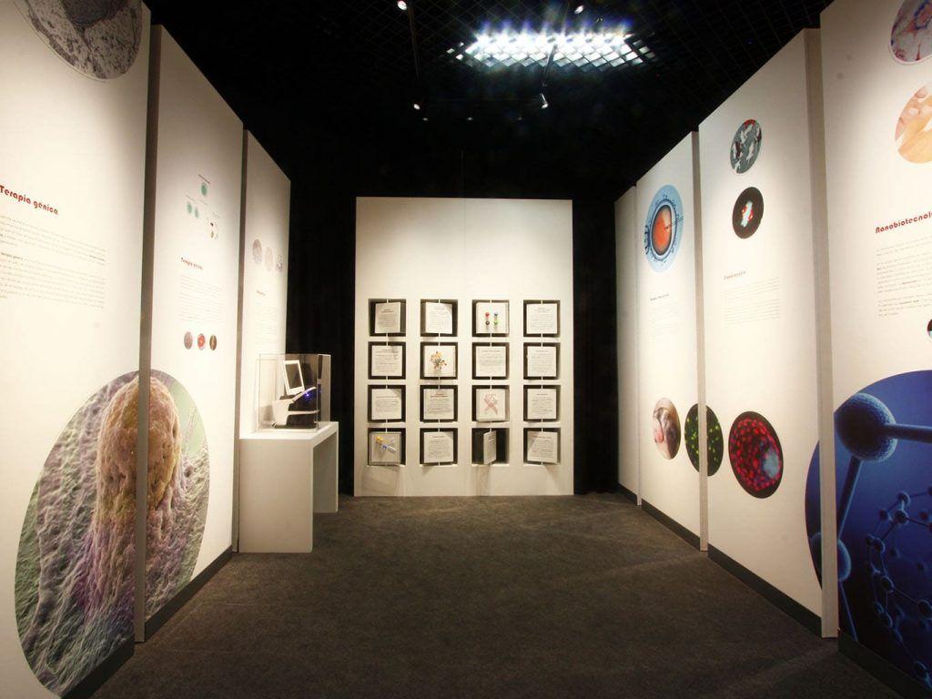 """1 - Exposición """"Biotecnología"""" en el MUNCYT - estudio gd"""