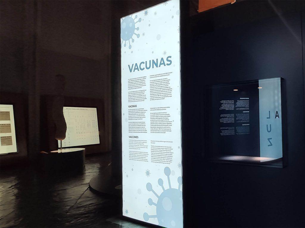 """1 - Exposición """"Vacunas"""" - estudio gd"""