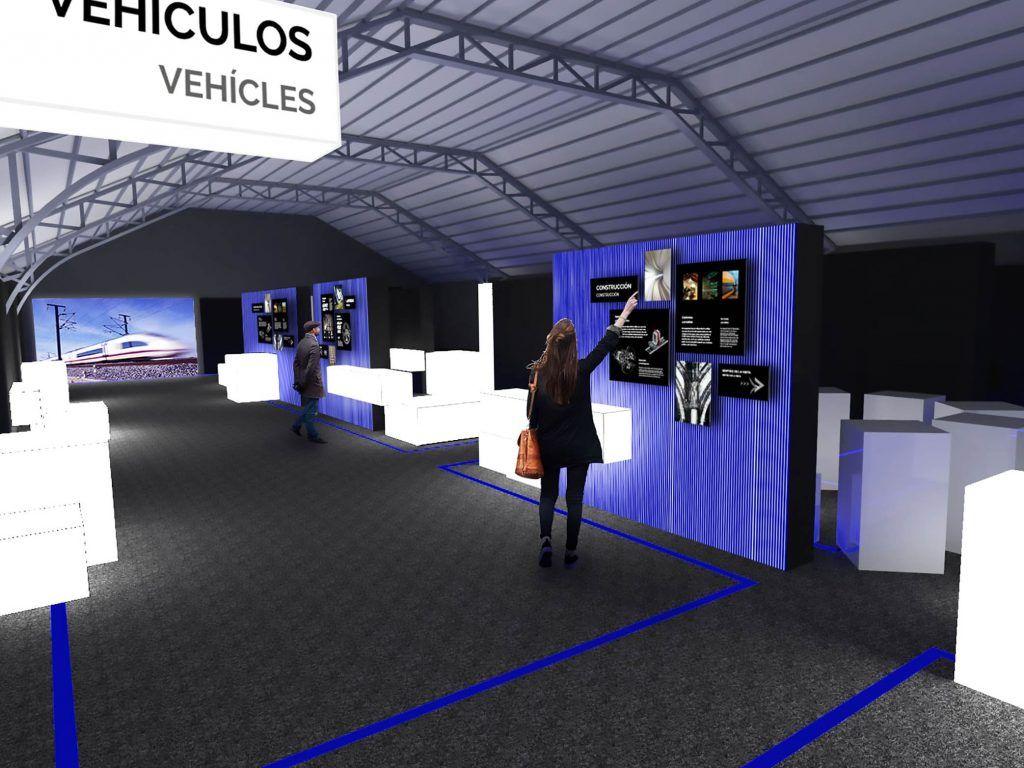 1 - Museo de la Alta Velocidad Española - estudio gd