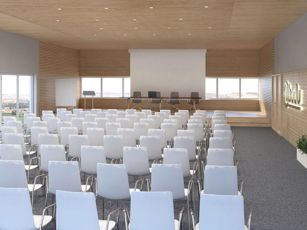 1 - Reforma integral de la sala multiusos de COBADU - estudio gd