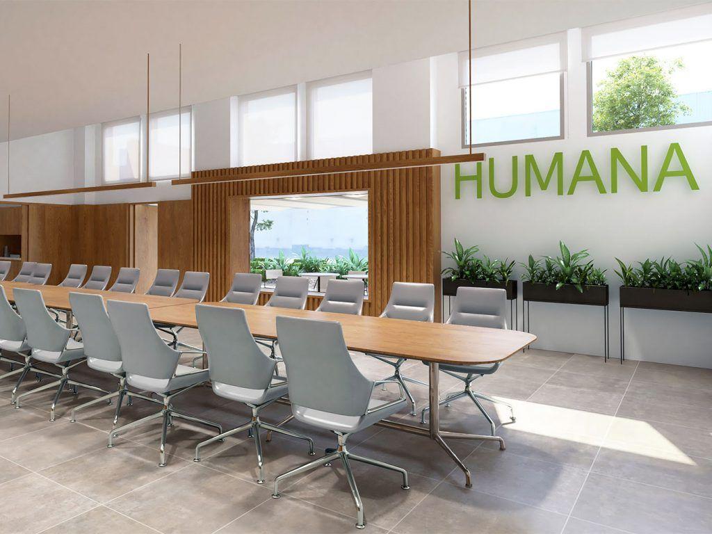 1 - Reforma parcial de las oficinas de Humana - estudio gd