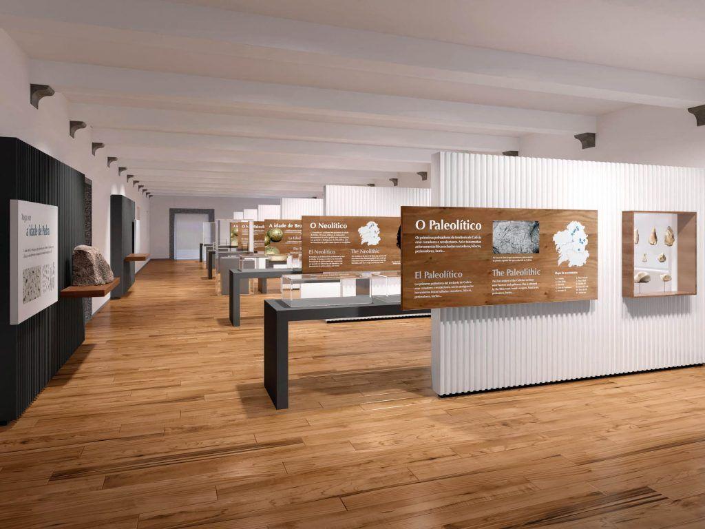 1 - Salas de Historia de Galicia del Museo do Pobo Galego - estudio gd